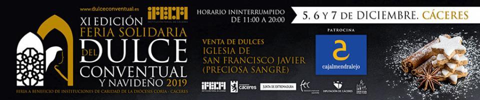 XI Feria Solidaria del Dulce Conventual y Navideño 2019